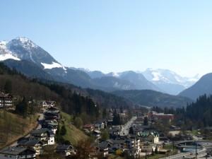 Berchtesgaden, Bavaria, April 2009