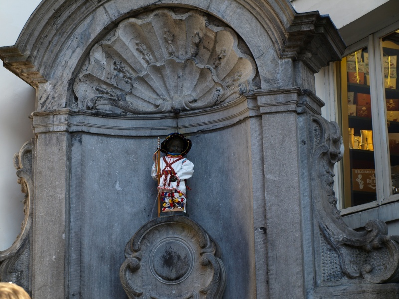 Manneken Pis, Brussels, October 2011