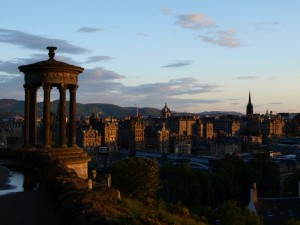 Edinburgh from Calton Hill, June 2011